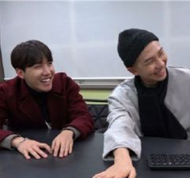 防弹少年团Rap Monster与J-Hope惊喜出演《花美男Bromance》