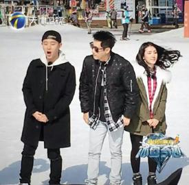 Gary池石镇录制《冰雪奇迹》 助阵北京冬奥会