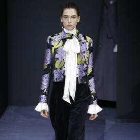 temperley lundon2016秋冬时装秀 薄纱+花朵致敬自然
