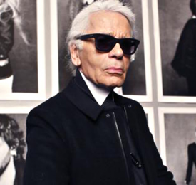 Karl Lagerfeld:屹立时尚金字塔顶端