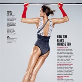长腿超模Karlie Kloss封面大片曝光 人生赢家性感出镜
