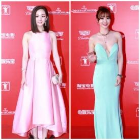 上海电影节2015红毯嘉宾,第18界上海电影节红毯造型,2015上海电影节红毯盘点