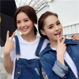 夏日玩转清新风 Twins最新大片演绎牛仔潮搭