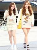 韩国明星街拍2015,韩国明星街拍图片,韩国明星搭配服装