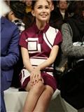 2015年纽约时装周第四天 陈学冬昆凌服装搭配引关注