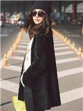 王珞丹赴2015纽约时装周 潮范儿亮相机场秀服装搭配