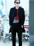 李易峰2014年机场造型大盘点 国民校草男装搭配就是这么帅