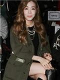 少女时代Tiffany郑柔美外套搭配 清新亮眼服装秒变韩星