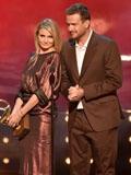 性爱录像带女主卡梅隆·迪亚兹穿Gucci礼服出席2014男士选择奖