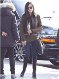 少女时代春装外套搭配 林允儿Jessica领衔出境