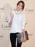 少女时代林允儿韩系冬装搭配 展现甜美邻家Feel