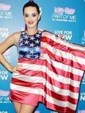 美国星条旗服装搭配 欧美明星个性穿搭范儿