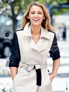 布莱克·莱弗利登《Lucky》杂志封面 完美演绎时尚大片