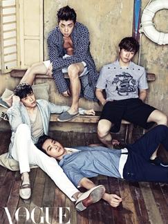 2PM杂志时尚大片 帅气逼人凸显成熟男人味