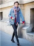 冬季牛仔外套搭配什么裤子好看图片欣赏,牛仔外套搭配什么裤子女,牛仔外套配什么裤子配什么裤子好看