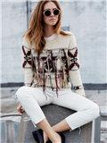 花色毛衣搭配 街拍常客们如何穿搭?