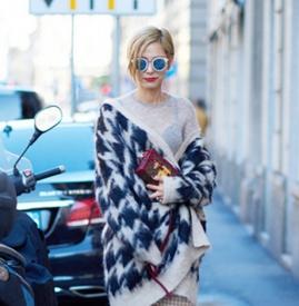 针织衫怎么穿好看,针织衫怎么搭配,针织裙怎么搭配外套