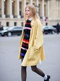 毛衣裙搭配图片,毛衣裙怎么搭配,毛衣裙子搭配图片