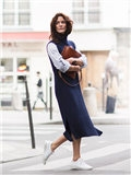 针织连衣裙图片,针织连衣裙女,长款针织连衣裙图片