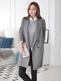 灰色毛呢大衣配什么鞋,灰色毛呢大衣搭配鞋子