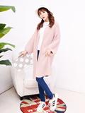 粉色毛衣外套怎么搭配,粉色毛衣外套搭配图片,粉色毛衣外套内搭什么