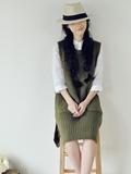 长款针织衫怎么搭配,长款针织衫如何搭配,长款针织衫搭配图片