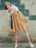 韩版连衣裙夏装2015图片库,韩版连衣裙夏装图片,韩版连衣裙中长款式