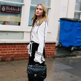 2016伦敦时装周进行时 场外型人早春tips街拍示范