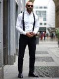 男士白色衬衫搭配,男生白衬衫如何搭配