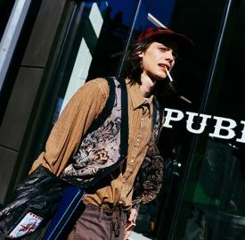 2016纽约男装周街拍 怪咖绅士统统来袭