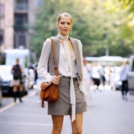 Elena Perminova街拍集锦 跟着时尚宠儿学春季美搭术