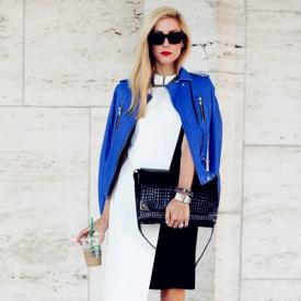 披上外套的女人才最魅力 街拍最in造型