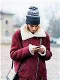 羊羔绒外套搭配图片,羊羔绒外套女图片