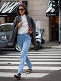 欧美街拍图片2015 偷学时尚达人穿搭时尚范