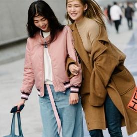 韩国首尔最新街拍 2015秋装韩流新动向