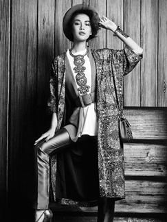 复古黑白时尚大片 Vintage造型演绎摩登风尚