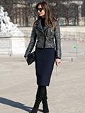 巴黎时装周2016秋冬 冬天了也要做个磨人的腰精
