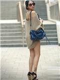 夏季流行服装,夏季服装搭配,北京街拍美女