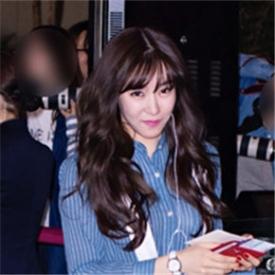 少女时代2015初夏街拍 泰妍Tiffany主打休闲风