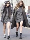 2015米兰时装周街拍 时尚icon携闺蜜齐出镜