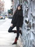 纽约潮人最新冬季街拍瞬间 越是简单越型格