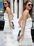 米兰达可儿最新露背装街拍 夏末血脉喷张狂秀性感(图)