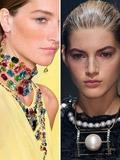 2015早春时尚项链搭配图片 个性首饰打造个人风格