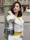 明星包包时尚搭配 刘诗诗最爱还是Chanel香奈儿(刘诗诗的街拍照)