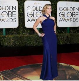 凯特·温斯莱特获金球奖最佳女配角 曾11次入围3次