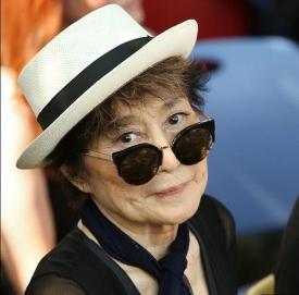83岁小野洋子中风住院 一直处于无意识状态