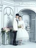古巨基陈英雪纯白婚纱照曝光 光棍节香港大婚