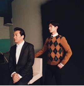 杨洋《父子》MV开拍 画面温馨本月内首播