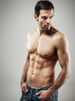 肌肉男高冷利落造型图片 男生短发炫酷发型