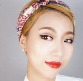 单眼皮怎么画复古眼妆,单眼皮适合的复古眼妆画法,复古单眼皮图片